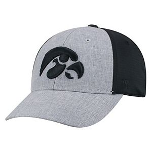 Adult Top of the World Iowa Hawkeyes Fabooia Memory-Fit Cap