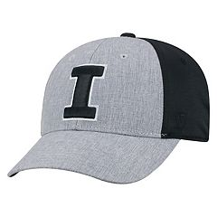 Adult Top of the World Illinois Fighting Illini Fabooia Memory-Fit Cap