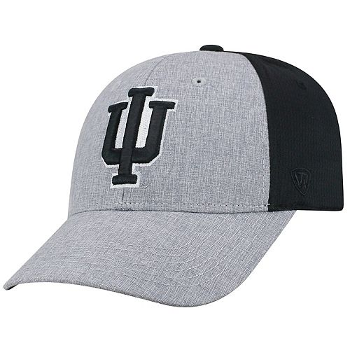 Adult Top of the World Indiana Hoosiers Fabooia Memory-Fit Cap