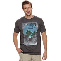 Big & Tall SONOMA Goods for Life™ 'Adventure Calls' Graphic Tee