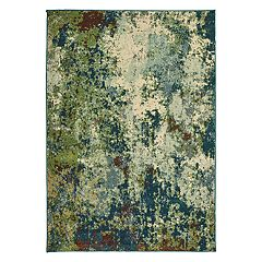 StyleHaven Damien Distressed Abstract Rug