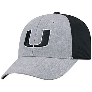 Adult Top of the World Miami Hurricanes Fabooia Memory-Fit Cap