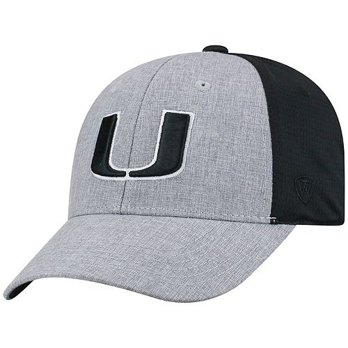 low priced ef917 0c1e0 ... ireland adult top of the world miami hurricanes fabooia memory fit cap  df5b9 9798c