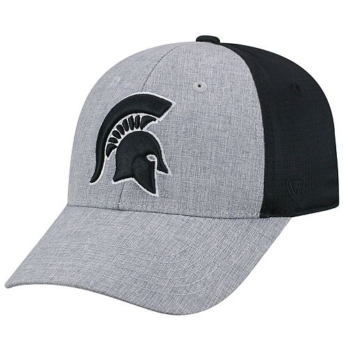 Adult Top of the World Michigan State Spartans Fabooia Memory-Fit Cap