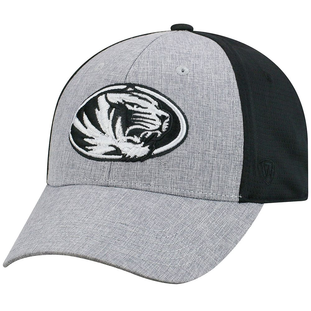 Adult Top of the World Missouri Tigers Fabooia Memory-Fit Cap