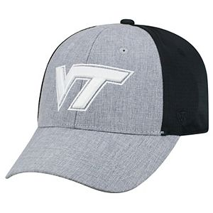 Adult Top of the World Virginia Tech Hokies Fabooia Memory-Fit Cap