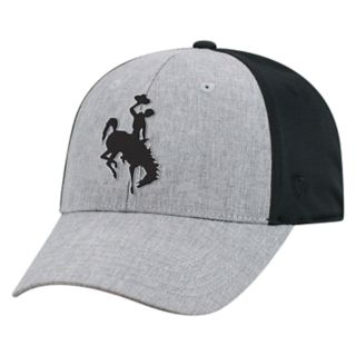 Adult Top of the World Wyoming Cowboys Fabooia Memory-Fit Cap