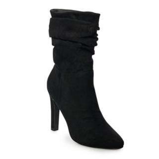 madden NYC Savanah Women's High Heel Slouch Boots