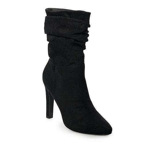 madden NYC Savanah Women's High Heel Slouch Boots