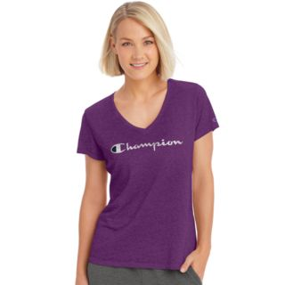 Women's Champion Authentic Wash V-Neck Graphic Tee