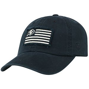 Adult Top of the World Colorado Buffaloes Flag Adjustable Cap