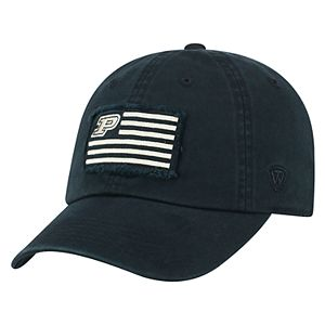 Adult Top of the World Purdue Boilermakers Flag Adjustable Cap