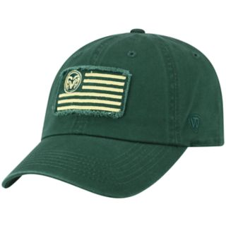 Adult Top of the World Colorado State Rams Flag Adjustable Cap