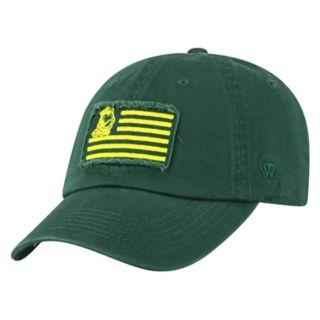 Adult Top of the World Oregon Ducks Flag Adjustable Cap