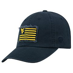 Adult Top of the World West Virginia Mountaineers Flag Adjustable Cap