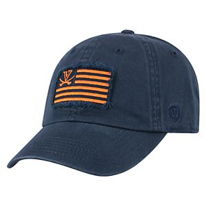 Adult Top of the World Virginia Cavaliers Flag Adjustable Cap