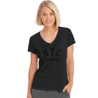 "Women's Champion Authentic Wash ""NYC"" Graphic Tee"