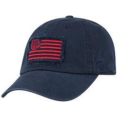 Adult Top of the World Gonzaga Bulldogs Flag Adjustable Cap