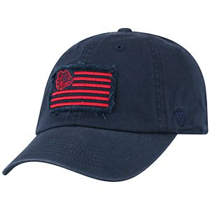 Adult Top of the World Gonzaga Bulldogs Flag Adjustable Cap