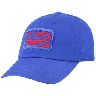 Adult Top of the World Kansas Jayhawks Flag Adjustable Cap