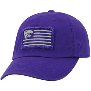 Adult Top of the World Kansas State Wildcats Flag Adjustable Cap