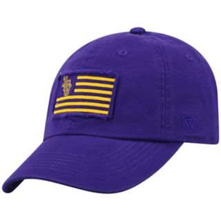 Adult Top of the World LSU Tigers Flag Adjustable Cap