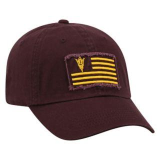 Adult Top of the World Arizona State Sun Devils Flag Adjustable Cap