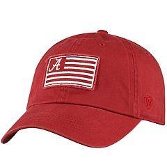 Adult Top of the World Alabama Crimson Tide Flag Adjustable Cap