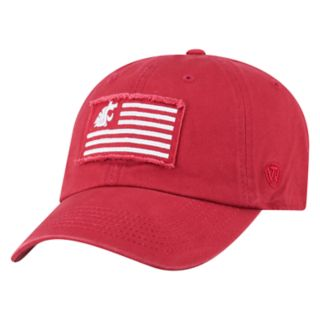 Adult Top of the World Washington State Cougars Flag Adjustable Cap