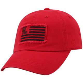 Adult Top of the World Louisville Cardinals Flag Adjustable Cap