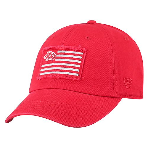 Adult Top of the World New Mexico Lobos Flag Adjustable Cap