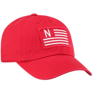 Adult Top of the World Nebraska Cornhuskers Flag Adjustable Cap