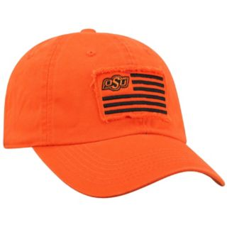 Adult Top of the World Oklahoma State Cowboys Flag Adjustable Cap