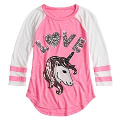Girls 7-16 Miss Chievous V-Neck Varsity Tee