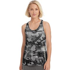 Women's Champion Authentic Wash Camo Racerback Tank