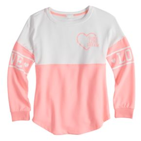 Girls 7-16 & Plus Size Miss Chievous Colorblocked Sweatshirt