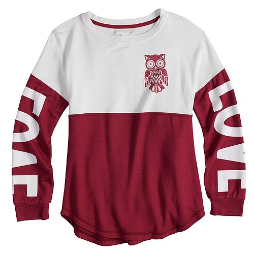 Girls 7-16 & Plus Size Miss Chievous Colorblocked Sweatshirt