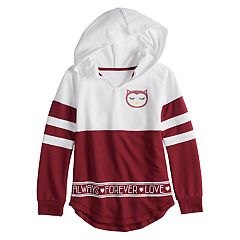 Girls 7-16 & Plus Size Miss Chievous Long Sleeve Colorblock Hoodie Sweatshirt