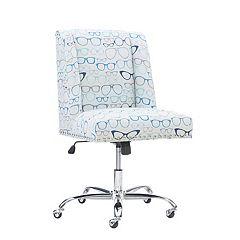 Linon Glasses Office Desk Chair