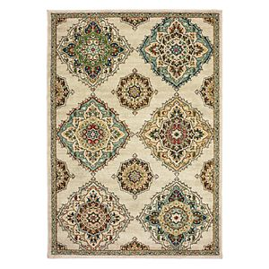 StyleHaven Damien Traditional Medallions Rug