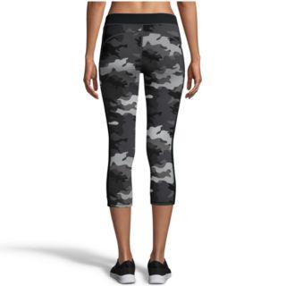 Women's Champion Gym Issue Camo Mid-Rise Capri Leggings