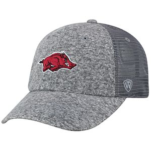 2225839ca90 Adult Top of the World Arkansas Razorbacks Artifact Adjustable Cap