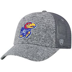 size 40 698c3 7ba02 Adult Top of the World Kansas Jayhawks Fragment Adjustable Cap