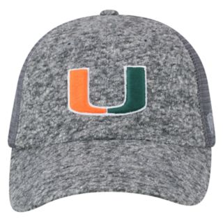 Adult Top of the World Miami Hurricanes Fragment Adjustable Cap