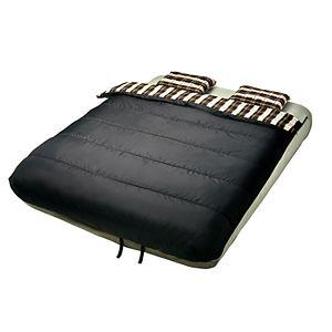 6 Piece Bedding Set for Queen Air Mattress - Gray