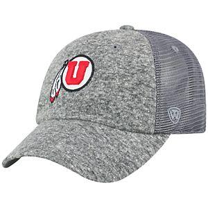 Adult Top of the World Utah Utes Fragment Adjustable Cap