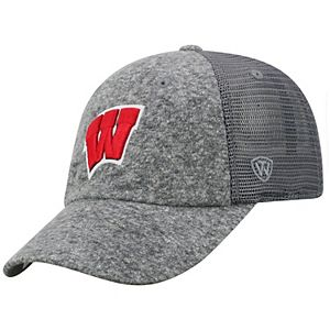 Adult Top of the World Wisconsin Badgers Fragment Adjustable Cap