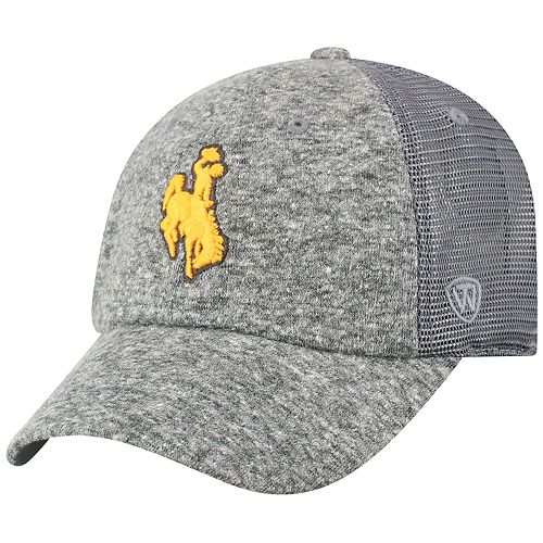 Adult Top of the World Wyoming Cowboys Fragment Adjustable Cap