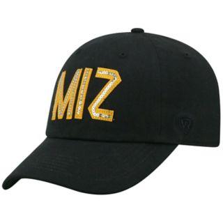 Women's Top of the World Missouri Tigers Glow District Adjustable Cap