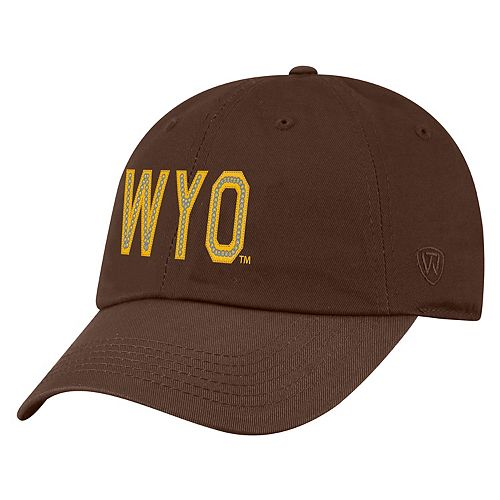 Women's Top of the World Wyoming Cowboys Glow District Adjustable Cap